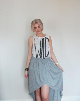 OOTD Cool clothes for Hot Saturday Shopping