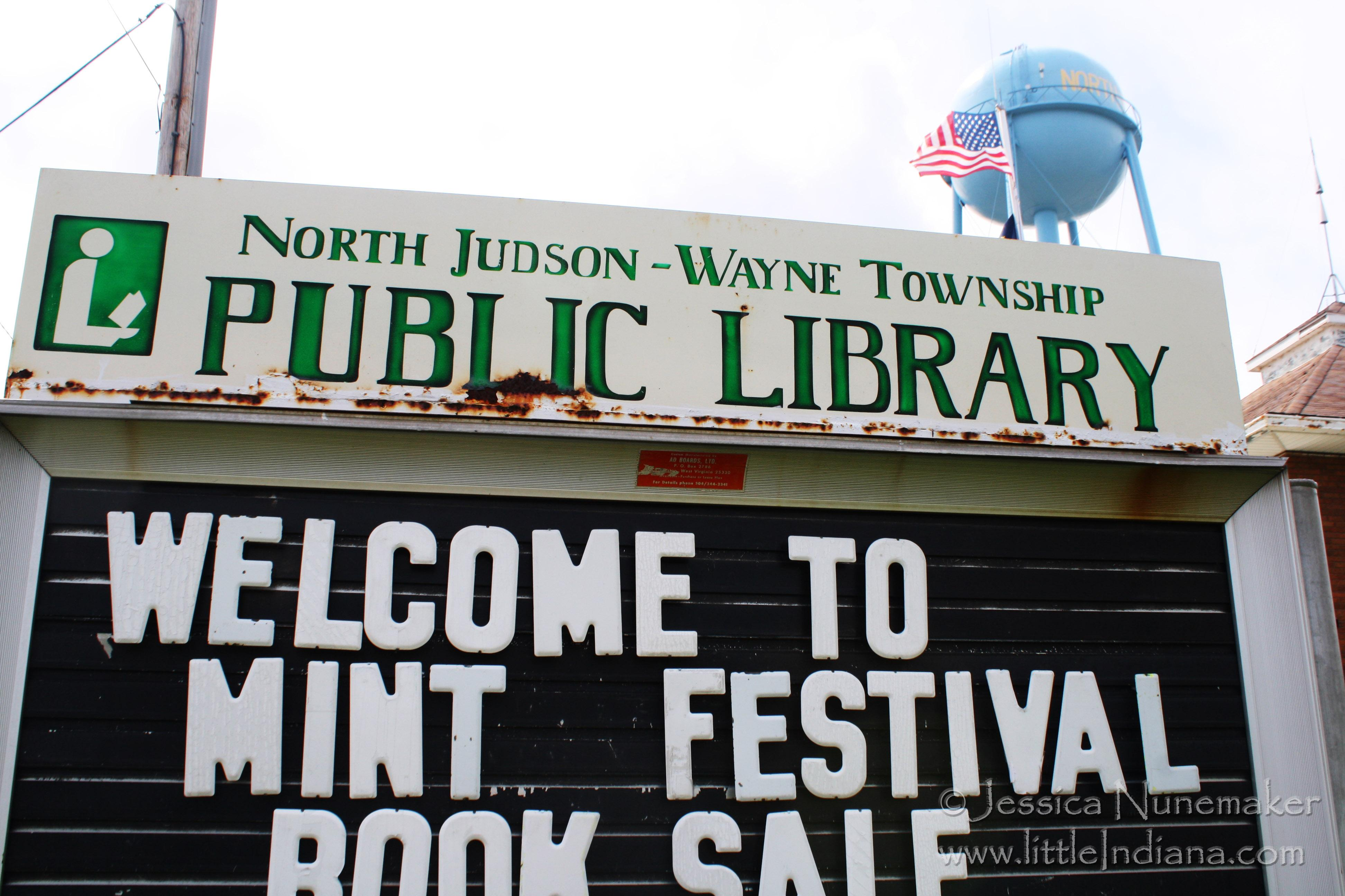 North Judson Mint Festival in North Judson, Indiana