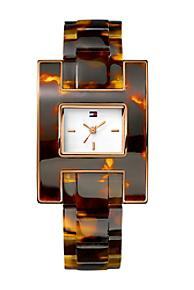 Tommy Hilfiger Memorial Day Sale tortoise shell watch mn stylist the laws of fashion promo code