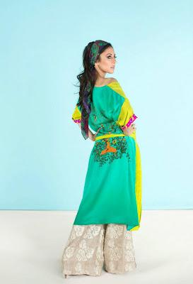 Sania Maskatiya 2012 Uraan Collection for girls