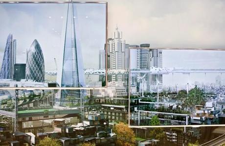 Futuristic London Skyline by Samsung