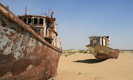 Mo'ynaq - Graveyard Of Ships In The Desert