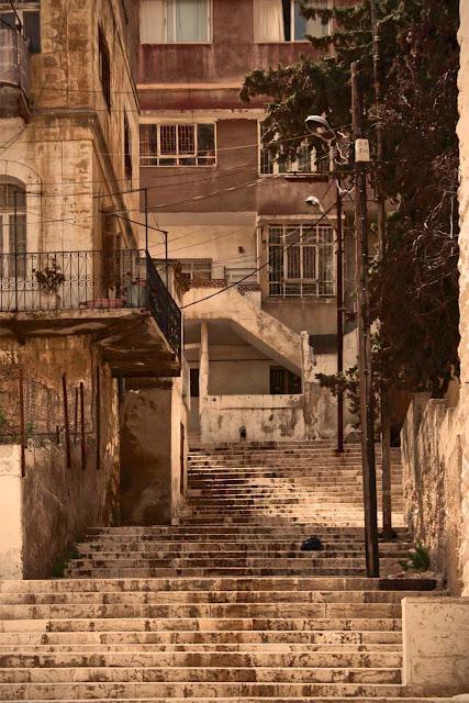Amman, food, rainbows and salt