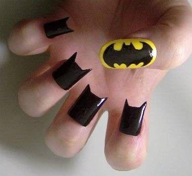 Batman nails! For those of you looking to do something a bit...