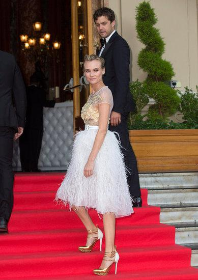 A Celebrity Moment: Diane Kruger at the 65th Annual Cannes Film Fesitval