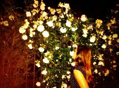 Smelling the roses Ryan McGinley style.