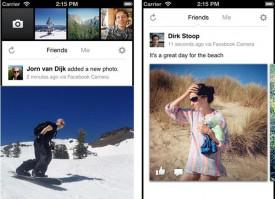Facebook Launches Camera Application for IOS