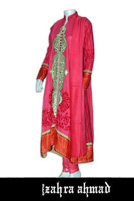Zahra Ahmed Summer Lawn Collection 2012