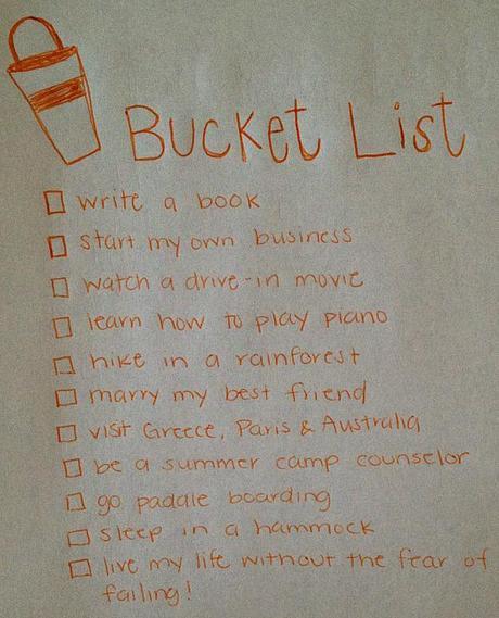 Before I Kick the Bucket