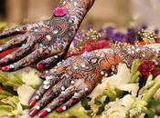 Latest Studded Stones Mehandi 2012 Brides