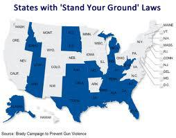 Stand-Your-Ground Laws in 21 States