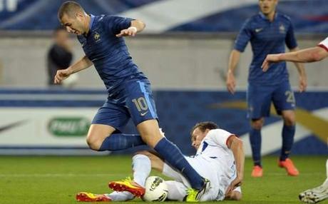 Friendly : Karim Benzema vs Logi Valgardsson (France vs Iceland)