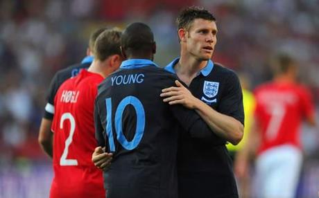 International Friendly - Norway v England, Ashley Young and James Milner