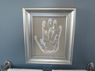 As Seen on Pinterest: Family Hands Artwork