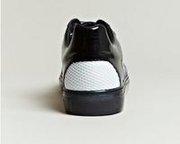 Texture Venture:  Balenciaga Contrast Panel Trainer