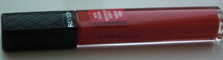 Swatches: Lips:Lip gloss:Revlon: Revlon Color Bust Lipgloss 046 Sizzle Swatches