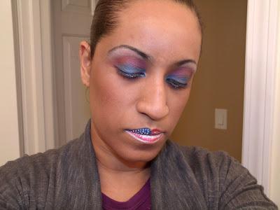 Makeup Monday ~ Memorial Day