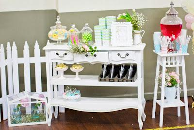 Garden Themed Party by 3's A Party Events and Party Supplies