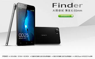 Oppo Finder, World's Thinnest Smartphone