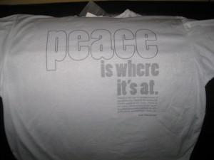 t-shirt made from recycled bottles