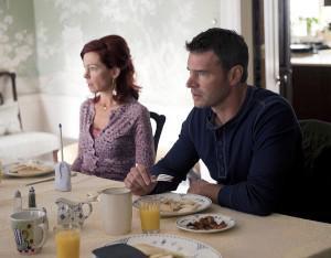 Scott Foley and Carrie Preston on True Blood