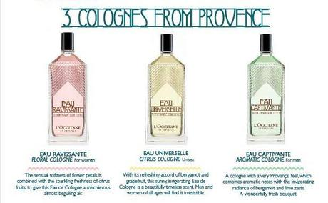 Upcoming Collections: Fragrances: L'OCCITANE:L'OCCITANE Eaux de Cologne