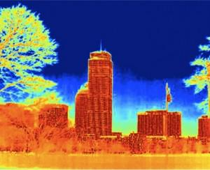 "Infared ""Drive-By"" Technology Quickly Finds Energy Leaks"