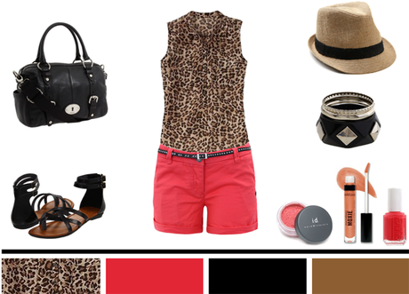 Leopard + Colored Shorts…