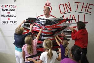 School Principals involved with fundraising