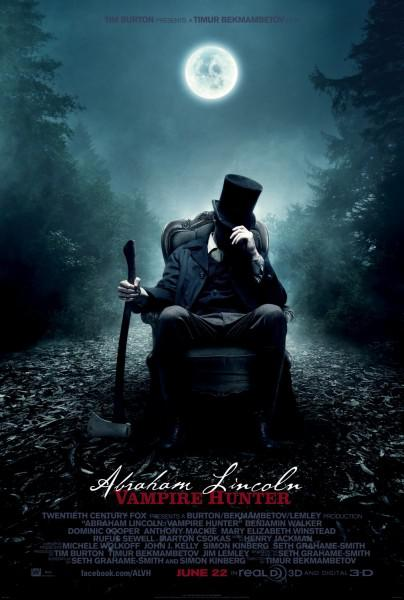 New Trailer for Abraham Lincoln: Vampire Hunter