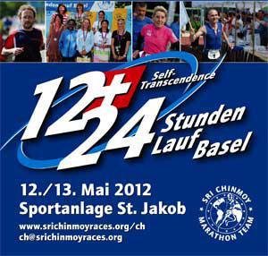 Self-Transcendence 24/12 Hour Race Basle 2012 Results