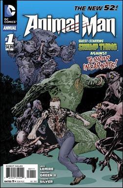 Animal Man Annual #1 cover