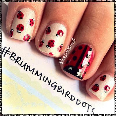 Nail Ideas: Ladybug Nails! - Paperblog