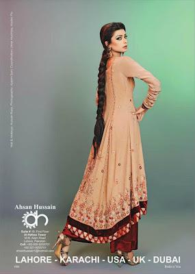 Ahsan Hussain's Latest Formal Line 2012 Collection for Women