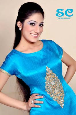 Sadia's Collection Women Pret & Couture Wear Summer Dresses 2012