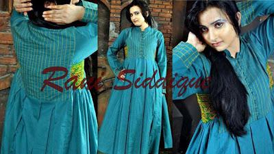 Patch Work Embroidered Women Casual Summer Dresses Collection By Rani Siddique