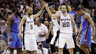 Quick Thoughts: Spurs Take 2-0 Lead Over OKC Thunder