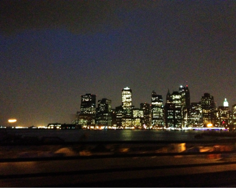 It's impossible to understand how majestic Manhattan is unless you've seen it driving under the Promenade on the BQE.