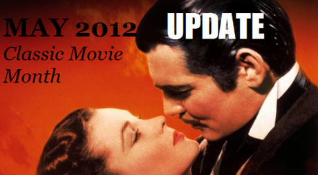 Classic Movie Month Weekly Update: May 30
