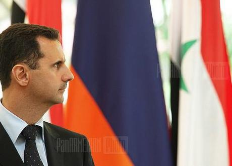 Syrian President Bashar al-Assad is clinging on to power