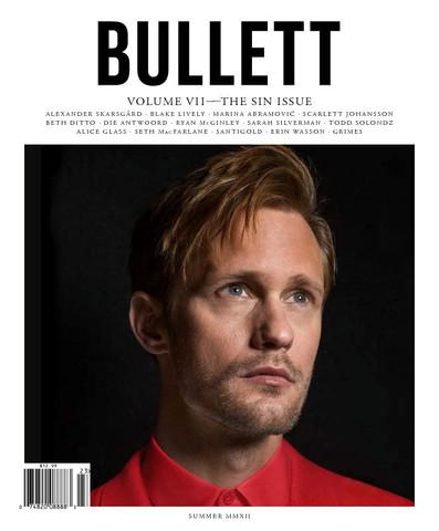 Alexander Skarsgård cuddles with lamb in Bullett Magazine photoshoot