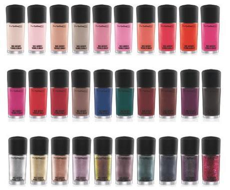 Upcoming Collections: Nails: Nail Polish Collections: MAC COSMETICS: MAC COSMETICS Nail Polish Collection For Summer 2012