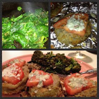 New Recipe! Baked Eggplant & Veggies...