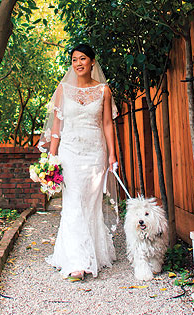 Beast walking Priscilla Chan down the aisle