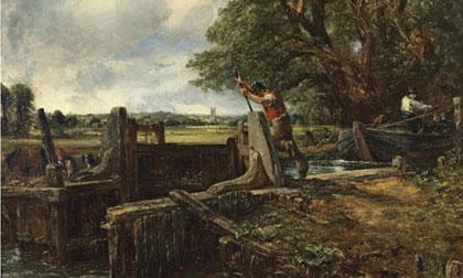 the-lock-by-john-constable