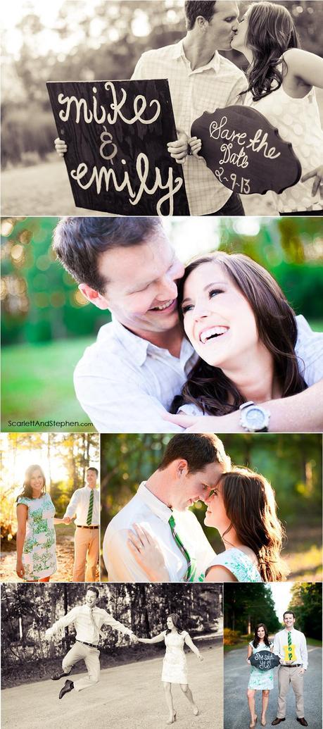 Emily & Mike are engaged! /// Jacksonville Engagement Photographer