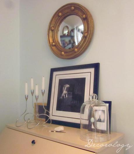 My latest crush: Blackband Home & Design.  One FAB porthole mirror, and a little peek at my apartment..