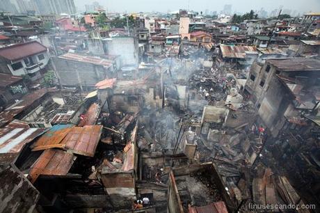 Makati fire aftermath