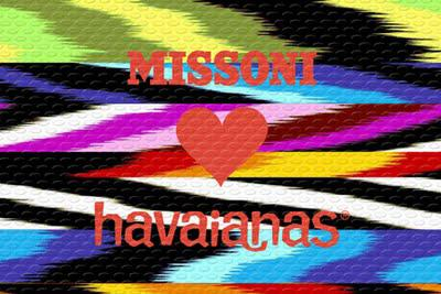 Missoni for Havianas mn stylist the laws of fashion designer labels for less flip flops