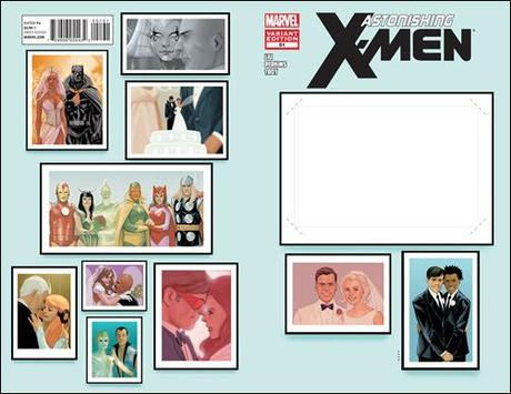 ASTONISHING X-MEN #51 Create Your Own Wedding Variant